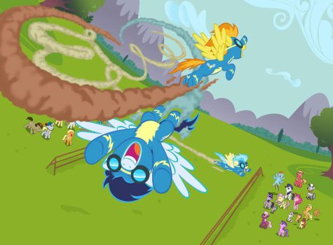 Wonderbolts Equestria Daily contest by Chano-kun