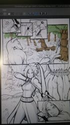 Ousia Verge comic sneak peak 1 by Mekari