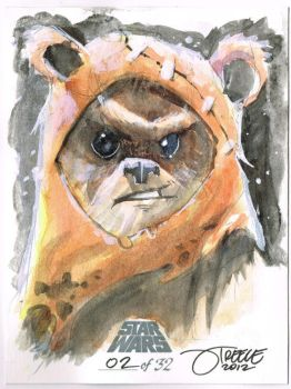 SW - Ewok by JeremyTreece