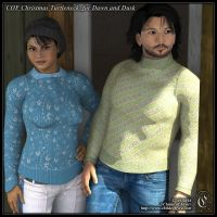 COF Christmas T-Neck for Dawn and Dusk (DS Only) by Childe-Of-Fyre