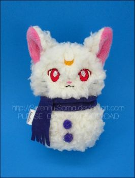 Plushie: Snowman Luna [Twitter Give Away] by Serenity-Sama