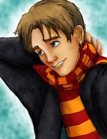 HP: Young Remus Lupin by LadyYonder