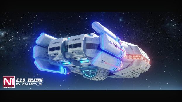 U.S.S. Valkyrie #6 by CINEMATIC-FILMS by calamitySi