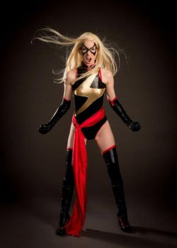 Ms Marvel Cosplay by AsheRogue
