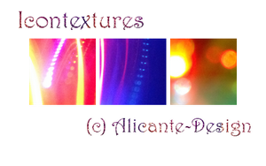 Icontextures Pack (Light Bokeh) by Alicante-Design
