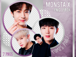 PNG PACK: MONSTA X #1 by Hallyumi