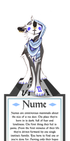 OLD Nume + Info (CLOSED SPECIES) by Tikrekins