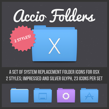 Accio Folder Icons for OSX by bowlandspoon