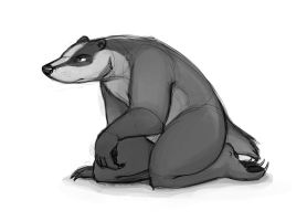 Badger Character Design by Temiree