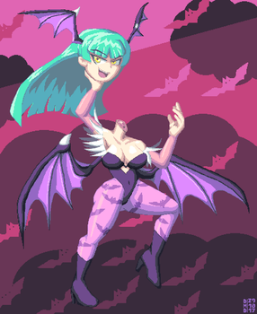 Headless Morrigan by DangerMD