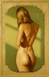 nude woman- painting by Yaro42