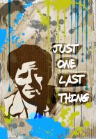 Columbo  stencil by nov1design