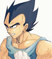 + Quick Vegeta + by Gokuran