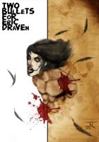 Two Bullets For Eric Draven by rizaturker