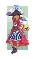 :PG: Lira the Pirate by LunePotter