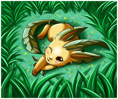 ::Leafeon:: by Sweetochii