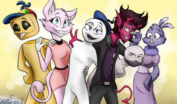 (fanart) - The Planet Dolan Crew by LividCreativity
