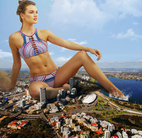 Giantess Relaxation by dochamps