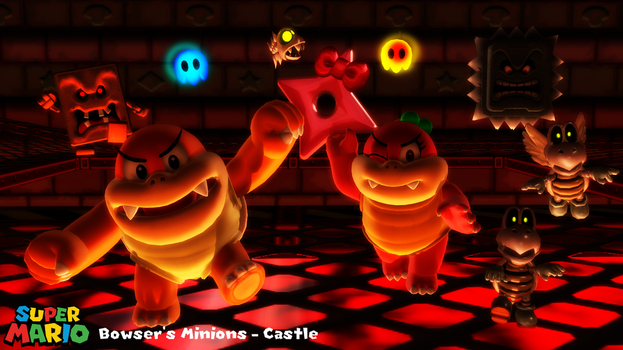 (MMD Model) Bowser's Minions - Castle Download by SAB64