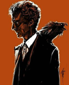 Peter Capaldi 12th Doctor by britrusacomady