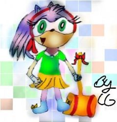 Amy Junior The Hedgehog (June) by AliceAcorn6003