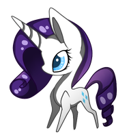 Chibi Rarity by iLucky7