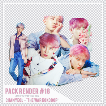 [PACK RENDER #18] CHANYEOL - THE WAR KOKOBOP by DTD12