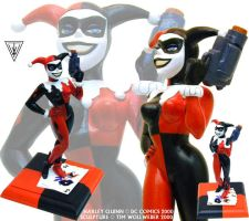 Harley Quinn - maquette sculpt by Timbone