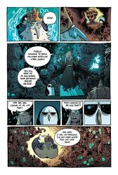 Adventure Time: The Wild Hunt, page 4 by liliesformary