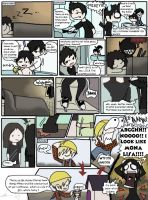 MCR comic - Straight FRO by Chocoreaper