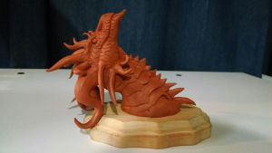 Dragon Sculpt - WIP by DelusionalPuffball