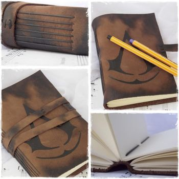 Leather Sketchbook Inspired By Assassin's Creed by ChrisOnly
