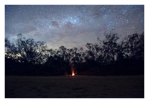 Cape Hillsborough Night Sky by Cameron-Jung