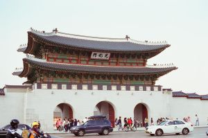 Gyeongbokgung Palace: Passing By I by neuroplasticcreative