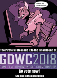 The Pirate's Fate: GDWC Finalist! Vote Link Inside by volkenfox