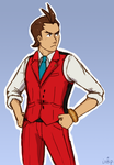 I'M APOLLO JUSTICE AND I'M FINE by inesp22