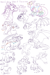 how 2 not draw wings of fire by pawpplio