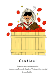Tomatoes may contain assassins by tzigany
