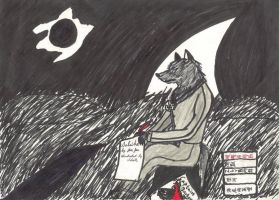 I Wait for You to Be Back by JimWolfdog