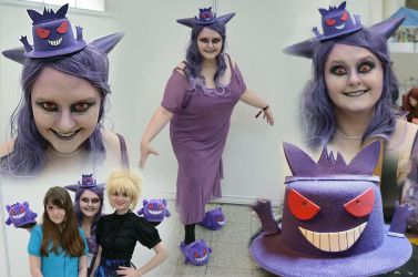 Gengar cosplay by MissSleeper