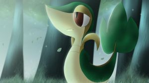Snivy by All0412