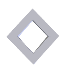 3D rotating rhombus by Smacketeer