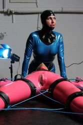 Blue Rope 07 by LatexImage