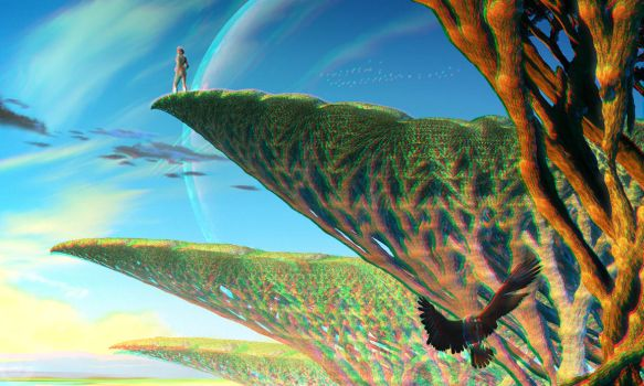 My Brother The Wind (Stereoscopy) by Hel1x