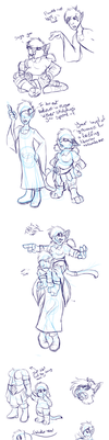 Tumblr Sketch Dump 1 by Andranis