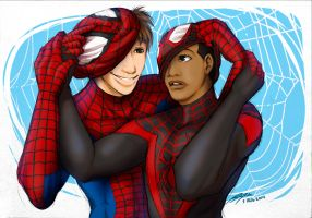 Spider-Men: Unmasked by lupitard