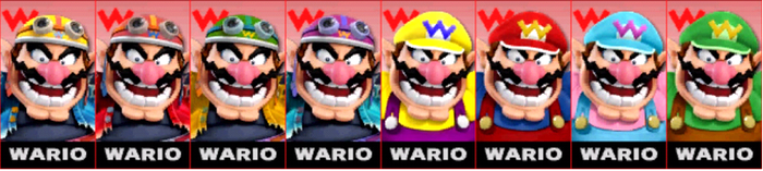 SSB4: Wario Comtuse (player) by TheZeldaFan22
