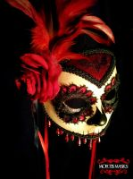 Sangria Muerta Mask by MortisMasks