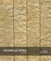Crumpled paper 2 by raduluchian