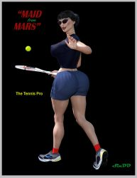 Maid From Mars Tennis Pro by SinDD